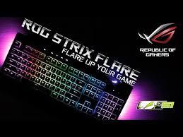 Обзор <b>клавиатуры Asus ROG Strix</b> Flare! - YouTube