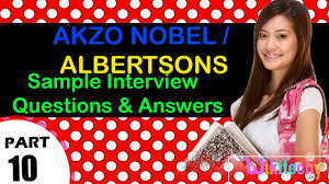 akzo nobel albertsons top most interview questions and answers akzo nobel albertsons top most interview questions and answers