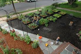 Small Picture Front Yard Vegetable Garden Design Images About Front Yard