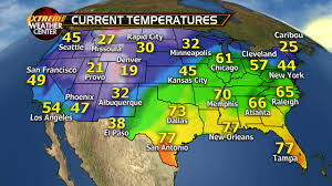 current weather map western us