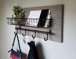 junis metal basket wall organizer with