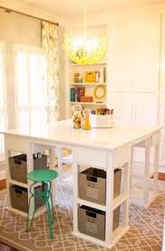 eclectic crafts room. Homeschool Room- Love The Square Table - Wonder If It Could Be A DIY Project Eclectic Crafts Room V