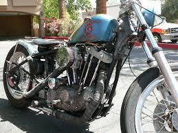 harley davidson custom sportster xlh bobber rat rod rat bike
