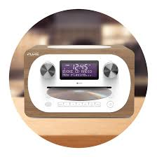 Slot loading CD Player Digital Radio Players - Compact all-in-one Sound Systems | Pure