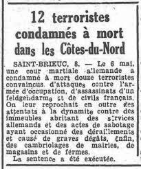 """Résultat de recherche d'images pour """"Callac en Côte du Nord en 1944"""""""