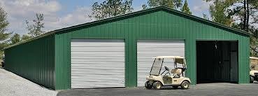 40 wide metal garages