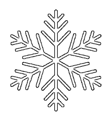 Snowflake Patterns Inspiration Free Printable Snowflake Templates Large Small Stencil Patterns