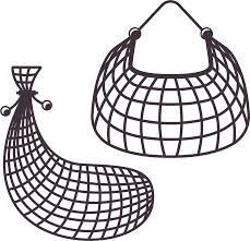 fishing net clipart black and white.  Black Fishing Net Fish Trap  10371001 Transprent Png Free  To Net Clipart Black And White L