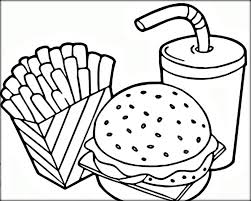 Coloring is fantastic fun and our printable coloring pages have something for everyone. 20 Free Printable Food Coloring Pages Everfreecoloring Com Food Coloring Pages Pizza Coloring Page Free Coloring Pages