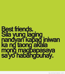 Tagalog Quotes About Friendship Best Awesome Best Friendship Quote