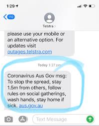 "💧Kristen Davey 🌏 on Twitter: ""My first #COVID19au msg from the 🇦🇺 Gov.  My first real piece of messaging beyond TV, which has become more like  white noise. @ScottMorrisonPM why haven't I"