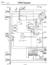 repair manuals toyota corolla wiring diagrams toyota corolla 1976 wiring diagrams