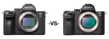 Sony Fullframe Comparison Sony A7 Iii Vs A7 Ii A7r Ii