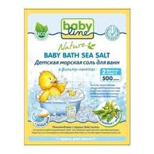 <b>Детская морская соль для</b> ванн BABYLINE NATURE DN 84 с ...