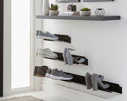 horizontal shoe rack 700mm wall