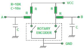 arduino rotary encoder rotary encoder arduino wiring
