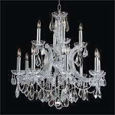 maria theresa glow crystal chandelier 561ad12lsp 7c