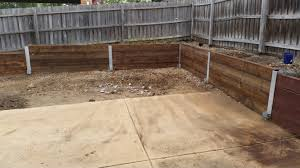 retaining wall by your property improvements