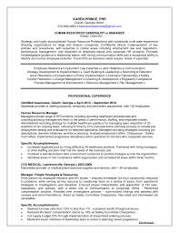 Human Resources Resume Examples 100 Images Page 15 Best