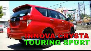 2018 toyota innova touring sport. modren 2018 2018 toyota innova crysta touring sport kapan datang ke indonesia giias 2017 with t