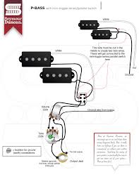 wiring diagrams seymour duncan part  p bass 1 volume 1 tone 2 way mini toggle series parallel