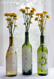 easy wine bottle vases for your favorite flowers
