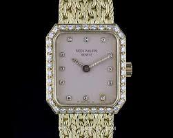 Ladies Y Watchcentre 4607 Diamond Set Patek Philippe 18k Cocktail 2 - g Vintage