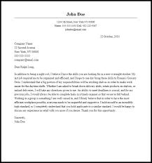 Professional Overnight Stocker Cover Letter Sample