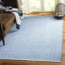 8x10 cotton rug hand woven blue ivory cotton rug 8 x 8x10 cotton area rugs 8x10