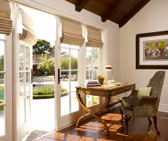 home office french doors. Traditional Home Office French Door Window Treatment Houzz Ideas For Doors U