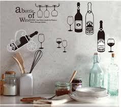 Large Kitchen Wall Decor Watch More Like Decorative Bottles Kitchen Sayings