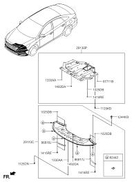 under cover for 2015 hyundai sonata hyundai parts deal 2015 hyundai sonata under cover diagram 2929111