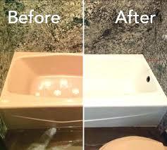 porcelain on steel bathtub