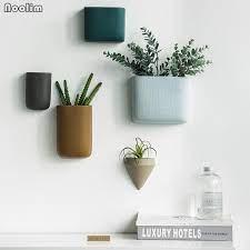ceramic wall vase home hanging