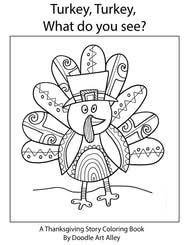 Looking for thanksgiving coloring pages to keep your little ones occupied and entertained as you prepare your holiday feast? Thanksgiving Coloring Pages Doodle Art Alley