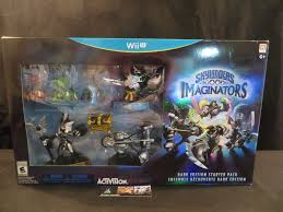 Skylanders Imaginators Chart Skylanders Imaginators Dark Edition With Dark Crystal Wii U