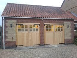 timber side hinged garage doors sleaford