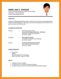New Resume Format For Job Application The Best Template