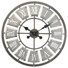 outdoor wall clock and thermometer garden clocks skeleton garden outside wall clock large indoor or outdoor outdoor wall clock and thermometer