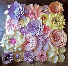 flower wall decor fresh paper flower wall decor wedding decor home