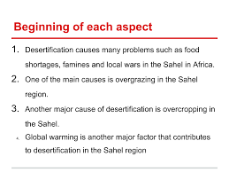 homework bantrygeography desertification question four aspects introductory statements