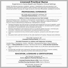 Certifications On A Resume Example Sample Nursing Resumes Unique