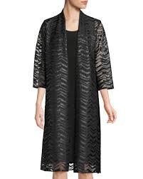 ine rose womens chevron faux leather applique duster jacket plus size 81593 ly