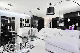 Modern Black And White Living Room Black And White Room Decorating Ideas Black And White Bedroom