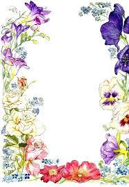 Flower Border Designs For Paper Flower Border Design Simple Side Border Designs Flower Border Design