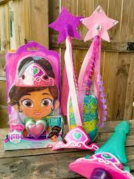 this wand along with the nella the princess knight crown and sword go perfectly together if your child would like to dress up as the princess knight