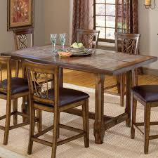 High Tables For Kitchens Villagio Trestle Counter Height Dining Table By Hillsdale Home