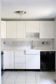 Simple White Kitchen Cabinets Custom How To Design And Install IKEA SEKTION Kitchen Cabinets Just A