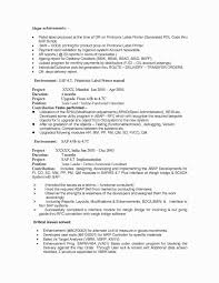 Sample Resume For Sap Abap 1 Year Of Experience Write Happy Ending