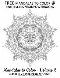 Free Mandala Coloring Pages Ironpowerbooks Boards
